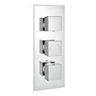 Istra Triple Square Concealed Valve