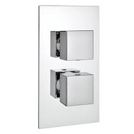 Istra Twin Square Concealed valve