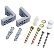 """L"" Shaped WC FIXING KIT - pack of 2"
