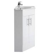 CUWB99 - Corner Unit - Gloss White