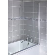 6mm Curved Top Bath Screens CEL001M