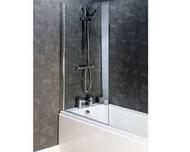 6mm Square Top Bath Screen CEL002M