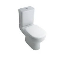 Spek Close Coupled Pan, Seat & Cistern With Quick Release Seat