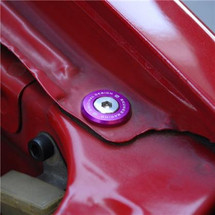 Skunk2 Large Fender Purple Anodized Washer Kit (12 Pcs.)