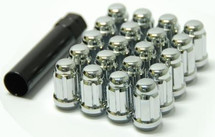 Wheel Mate Muteki Closed End Lug Nuts - Chrome 12x1.50