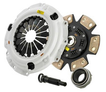 Clutch Masters 03-12 Honda Accord 2.4L / 04-08 Acura TSX 2.4L FX400 Clutch Kit 6-Puck w/Steel Fly