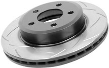 DBA 98-06 Accord V6 / 03-06 Accord 4 cyl Rear Slotted Street Series Rotor