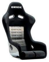 Bride Cusco Zeta III+C Type-L FRP - Silver / Black Suede Seat