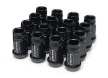 Skunk2 12 x 1.5 Forged Lug Nut Set (Black Series) (16 Pcs.)