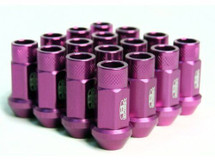 BLOX Racing Street Series Forged Lug Nuts - Purple 12 x 1.5mm - Set of 16