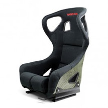 Seibon Carbon Kevlar Bucket Racing Seat Type-FC- Black