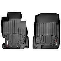WeatherTech 04-08 Acura TL Front FloorLiner - Black