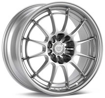Enkei NT03+M 17x7.5 5x100 35mm Offset 72.6mm Bore Silver Wheel