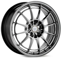 Enkei NT03+M 17x7.5 5x100 35mm Offset 72.6mm Bore Hyper Black Wheel
