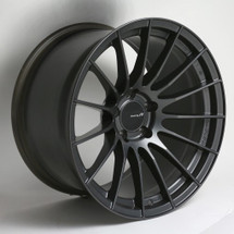 Enkei RS05-RR 18x8.5 42mm Offset 5x100 Bolt Pattern 75.0 Bore Matte Gunmetal Wheel