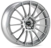 Enkei RS05-RR 18x10.5 23mm Offset 5x120 Bolt Pattern 72.5 Bore Sparkle Silver Wheel