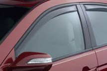 WeatherTech 04-08 Acura TL Front and Rear Side Window Deflectors - Light Smoke