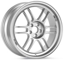 Enkei RPF1 16x7 5x114.3 30mm Offset 73mm Bore Silver Wheel