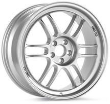Enkei RPF1 18x9.5 5x114.3 15mm Offset 73mm Bore Silver Wheel