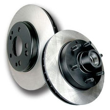 Acura TL 2004-2008 rear premium blank stoptech rotor (each - 1) (including type-s)