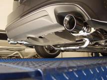 XLR8 Catback Exhaust with Resonator 2004-2008 single tips