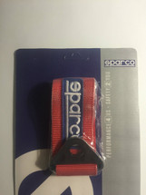 sparco red tow strap (universal)