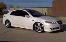 Acura TL OEM ASpec Lip, Front Underspoiler 07-08 UA6