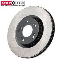 Both Front only Stoptech brake package (blanks)- standard non brembo