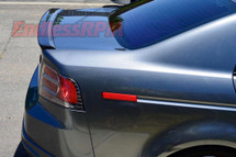 Acura TL Type-s OEM style Carbon Fiber Trunk Spoiler Lip