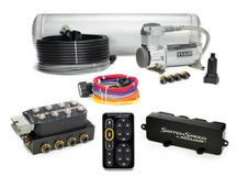 Accuair Speed Switch Air Management Stage 2 Package Air Ride Suspension - 2 compressors