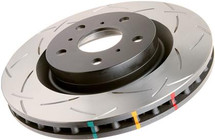 DBA 00-08 S2000 Rear Slotted 4000 Series Rotor Slotted