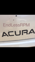 ACURA Front Bumper Decal (2004-2008 TL)