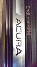 ACURA Carbon Fiber and Neo Chrome Door Sill Inserts (2004-2008 TL)