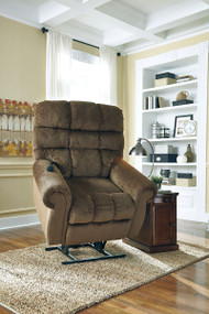 Ernestine Truffle Power Lift Recliner