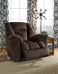 Nimmons Chocolate Zero Wall Recliner