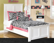 Bostwick Shoals White Twin Panel Bed