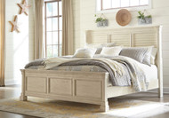 Bolanburg White Queen Louvered Bed