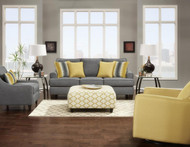 Maxwell Gray Loveseat