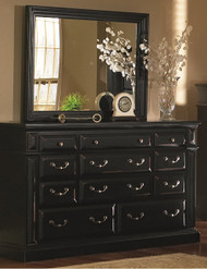 Torreon Dresser Black