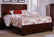 "Diego King Bed  ""SOLID WOOD""  IN ESPRESSO FINISH"