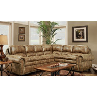 Padre Almond Sectional