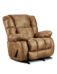 Almond Tall Man Rocker Recliner