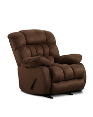 Plush Rocker Recliner