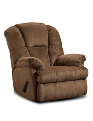 Recliner Chocolate Tall Back & Wide Seat