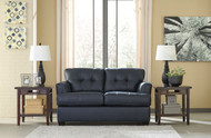 Inmon Navy Loveseat