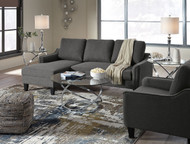 Jarreau Gray Queen Sofa Sleeper, Chair & Hollynyx Table Set