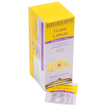 Bigelow I Love Lemon Herbal Tea Bags