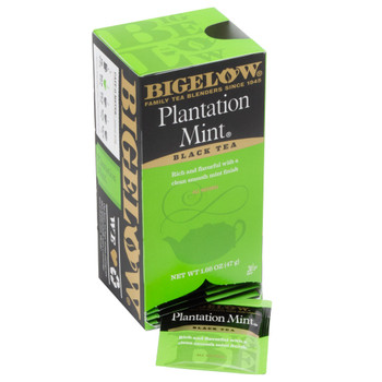 Bigelow Plantation Mint Black Tea Bags
