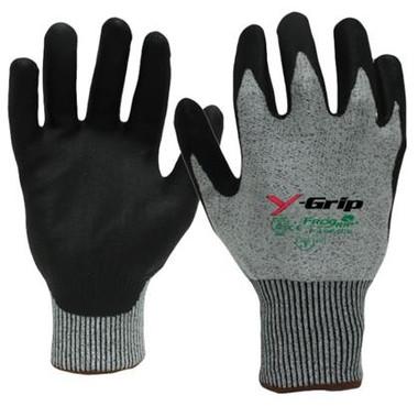 Y-GRIP Cut Resistant Polyurethane Coated Gloves ##F4960 ##