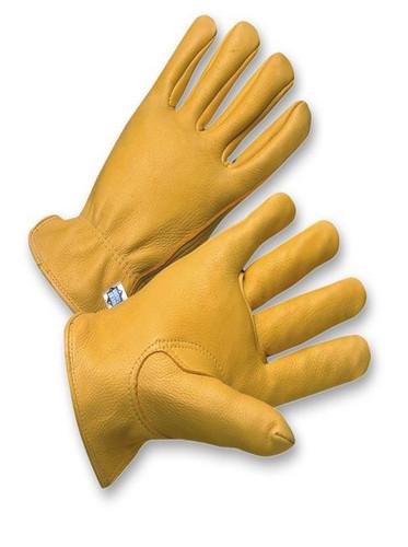 Top Grain Natural Deerskin Work Gloves  ##6928 ##